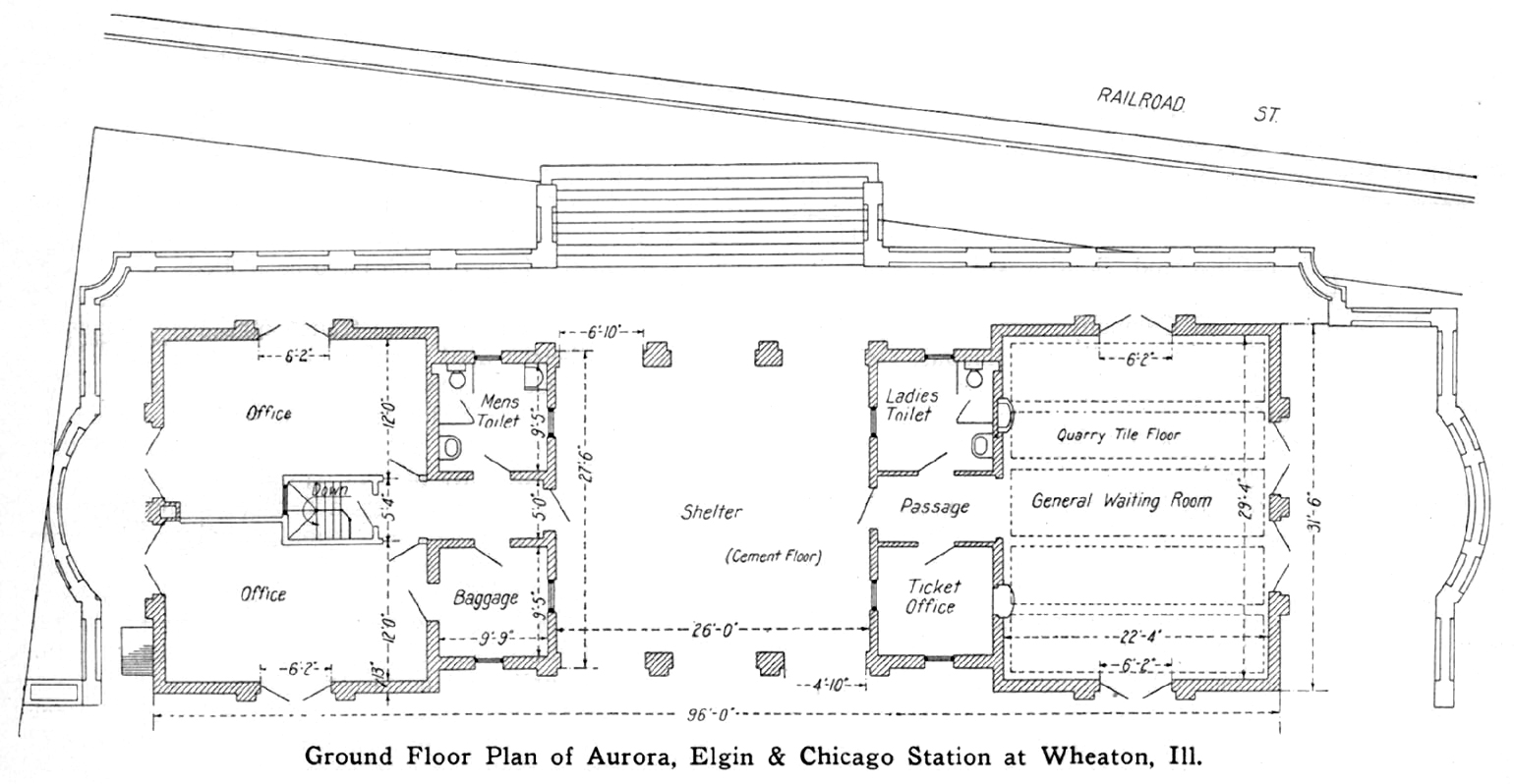 Wheaton for Railroad depot plans